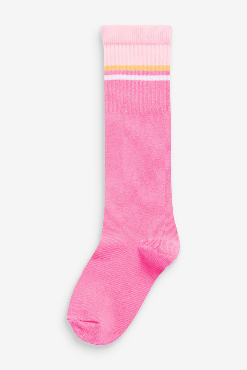Next 2 Pack Knee High Sports Socks