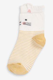 Next 7 Pack Pretty Character Socks - 291178