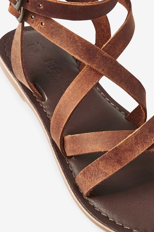 Next Leather Gladiator Sandals (Older)