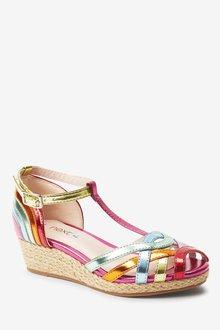 Next Wedge T-Bar Sandals (Older) - 291216