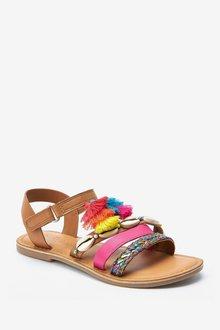 Next Tassel Boho Sandals (Older) - 291226