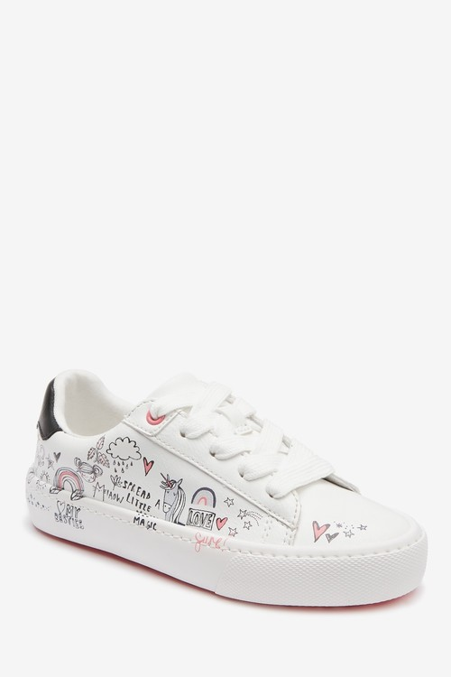 Next Lace Up Trainers (Older)