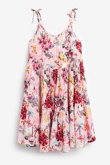 Next Printed Tiered Dress - 291252