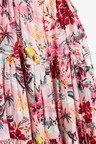 Next Printed Tiered Dress