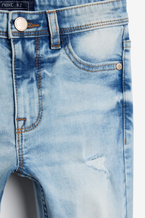 Next Distressed Jeans (3-16yrs)-Skinny Fit