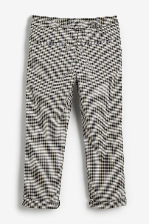 Next Pull-On Check Trousers (3-16yrs)