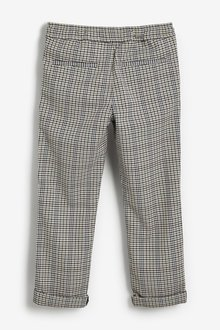 Next Pull-On Check Trousers (3-16yrs) - 291355