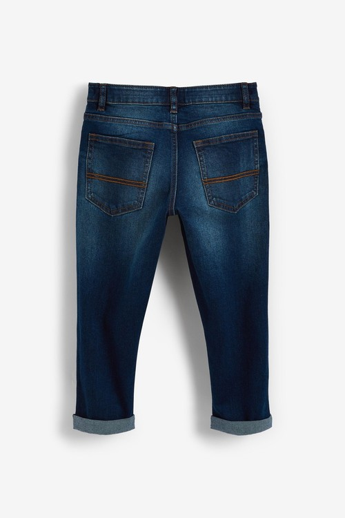 Next Five Pocket Jeans (3-16yrs)-Tapered Loose Fit