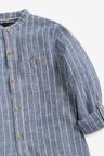 Next Stripe Grandad Collar Shirt (3-16yrs)