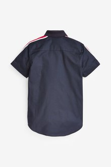 Next Short Sleeve Colourblock Shirt (3-16yrs) - 291371