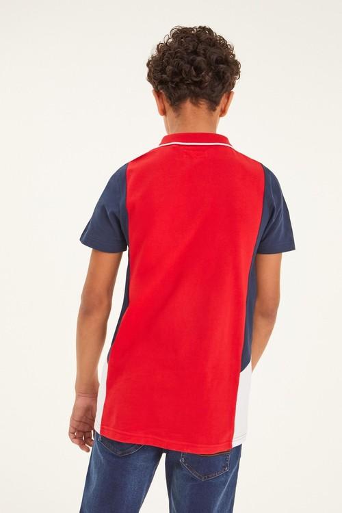 Next Colourblock Poloshirt (3-16yrs)