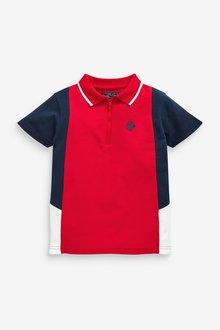 Next Colourblock Poloshirt (3-16yrs) - 291389