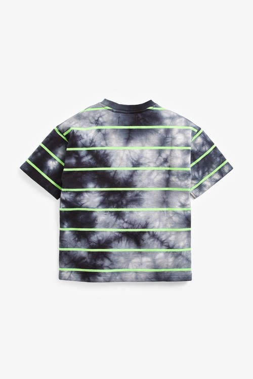 Next Tie Dye Short Sleeve Relaxed Drop Shoulder Fit T-Shirt (3-16yrs)