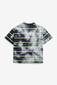 Next Tie Dye Short Sleeve Relaxed Drop Shoulder Fit T-Shirt (3-16yrs) - 291396