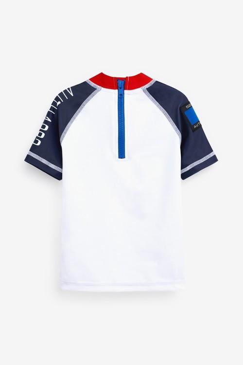 Next Rash Vest and Short Set (3mths-7yrs)