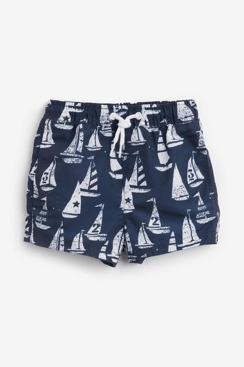 Next Boat Rash Vest And Shorts Set (3mths-7yrs)
