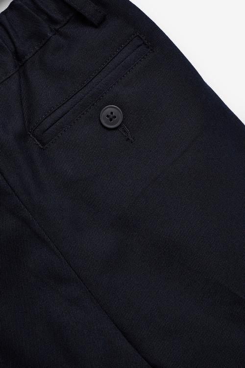 Next Pleat Front Trousers (3-16yrs)-Regular Waist