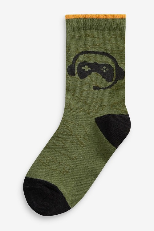 Next 7 Pack Cotton Rich Socks (Older)