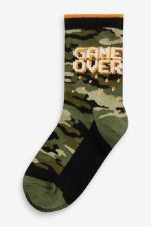 Next 7 Pack Cotton Rich Socks (Older) - 291516