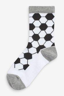 Next 7 Pack Cotton Rich Football Socks (Older) - 291517