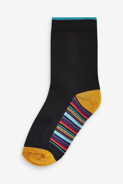 Next 7 Pack Cotton Rich Cushioned Socks (Older)