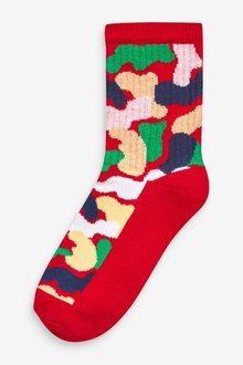 Next 5 Pack Cotton Rich Cushioned Sports Socks (Older) - 291539
