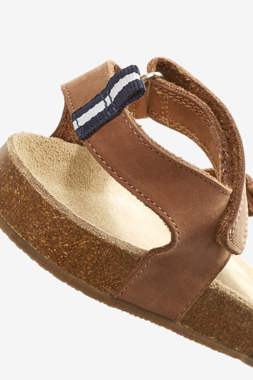 Next Corkbed Sandals (Younger)-Wide Fit