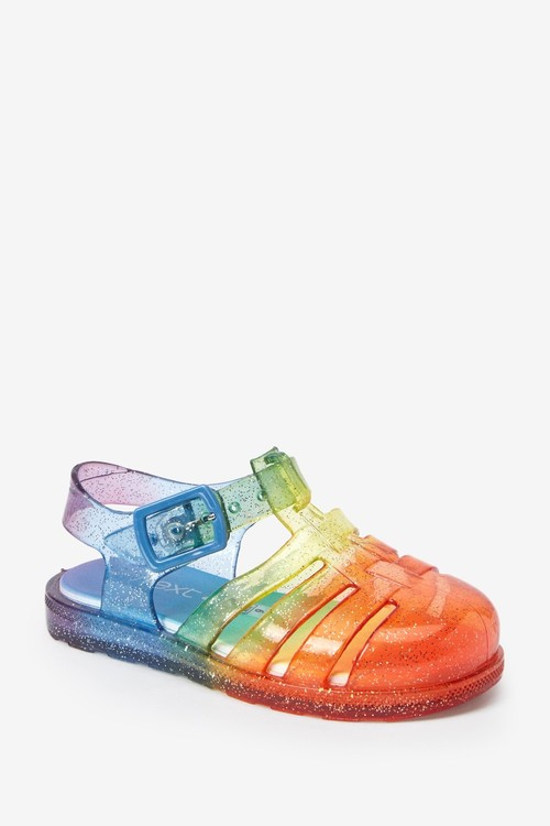 Next Cushioned Sole Jelly Sandals (Younger)