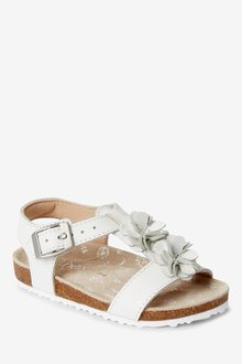 Next Flower Sandals (Younger)-Wide Fit - 291673