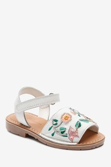 Next Embellished Leather Menorcan Style Sandals (Younger) - 291707