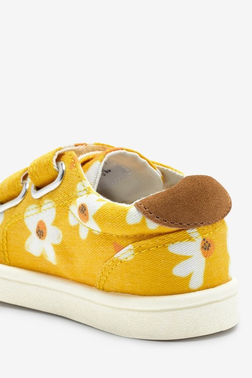 Next Canvas Bumper Toe Trainers (Younger)