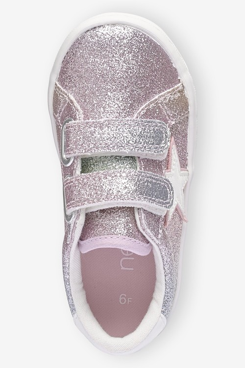 Next Touch Fastening Trainers (Younger)-Wide Fit