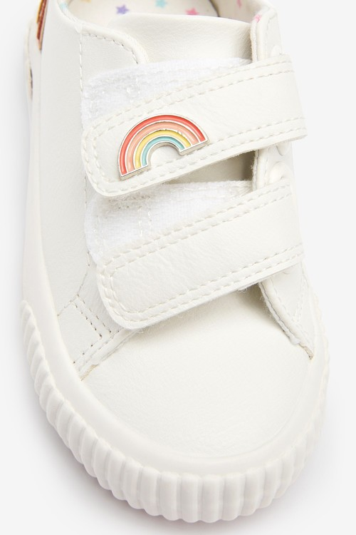 Next Rainbow Touch Fastening Trainers (Younger)