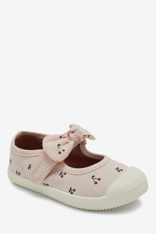 Next Canvas Bumper Toe Mary Jane Shoes (Younger)