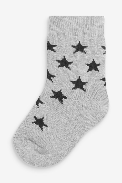 Next 5 Pack Transport Cotton Rich Socks (Younger)