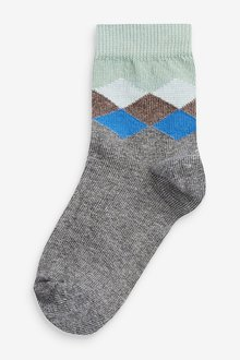 Next 7 Pack Cotton Rich Socks (Younger) - 291756