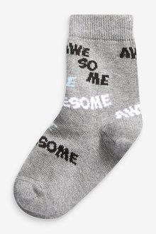Next 7 Pack Cotton Rich Socks (Younger) - 291763