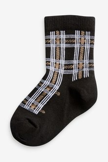 Next 7 Pack Cotton Rich Heritage Smart Socks (Younger) - 291765