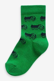 Next 7 Pack Cotton Rich Socks (Younger) - 291767