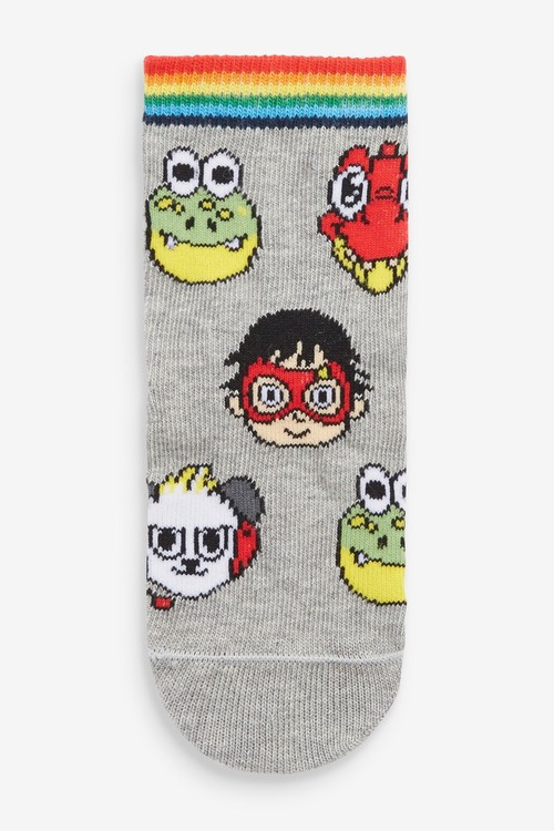 Next 3 Pack Ryans World Cotton Rich Socks (Younger)