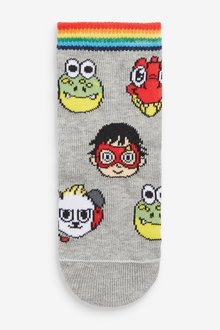 Next 3 Pack Ryans World Cotton Rich Socks (Younger) - 291769