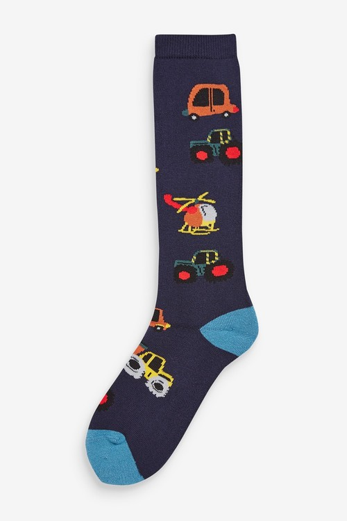 Next 2 Pack Transport Welly Socks (Younger)