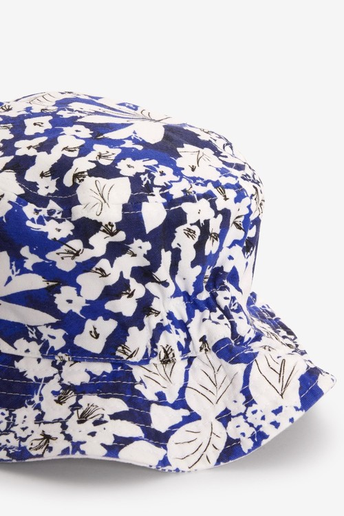 Next Floral Reversible Bucket Hat (Younger)