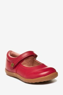 Next Little Luxe Mary Jane Shoes (Younger)-Wide Fit - 291782