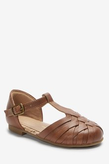 Next Woven T-Bar Shoes (Younger) - 291783