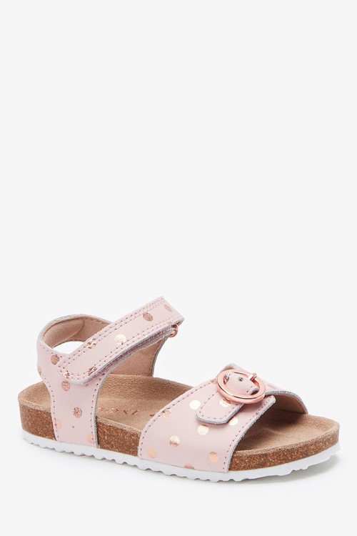 Next Buckle Sandals (Younger)-Wide Fit