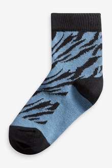 Next 5 Pack Cotton Rich Socks (Younger) - 291789
