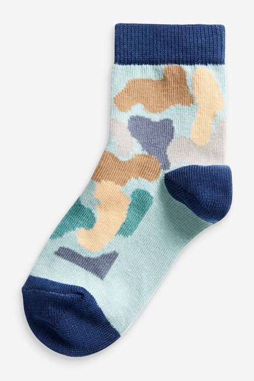 Next 5 Pack Cotton Rich Socks (Younger)