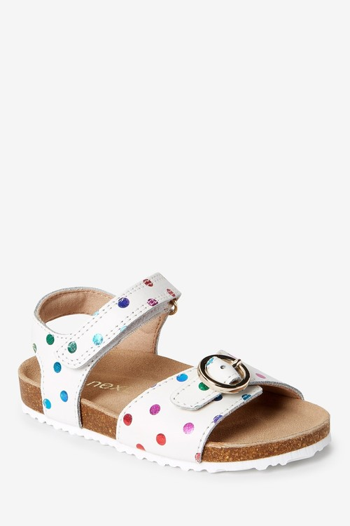 Next Leather Buckle Sandals (Younger)