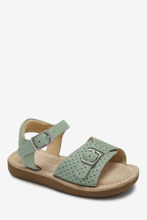 Next Premium Leather Buckle Sandals (Younger)